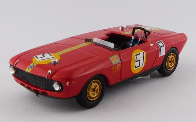 BEST MODEL (ベストモデル) 1/43 ランチア フルビア F&M スペシャル HF ニュルブルクリンク 1000km 1969 #51 Maglioli/Pinto *レジン製