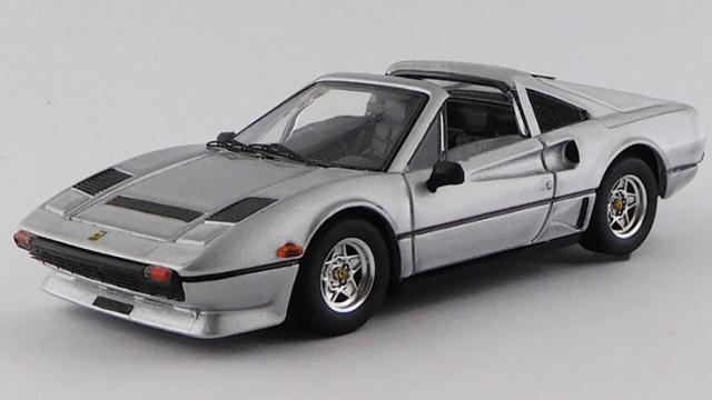 BEST MODEL 1/43 フェラーリ 208 GTS ターボ 1982 メタリックグレー