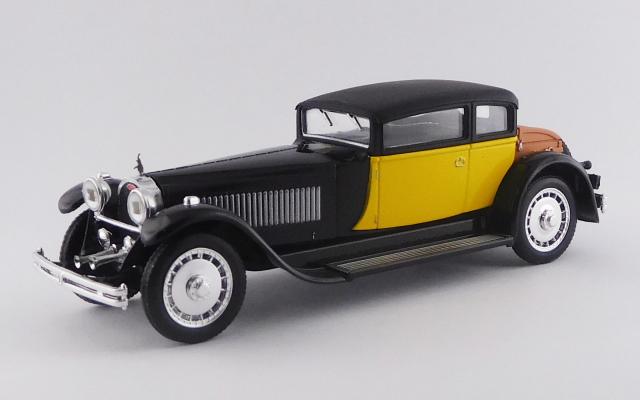RIO 1/43 ブガッティ 41 ロワイヤル ウェイマン 1929 ブラック/イエロー