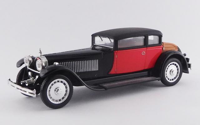 RIO 1/43 ブガッティ 41 ロワイヤル ウェイマン 1929 ブラック/レッド