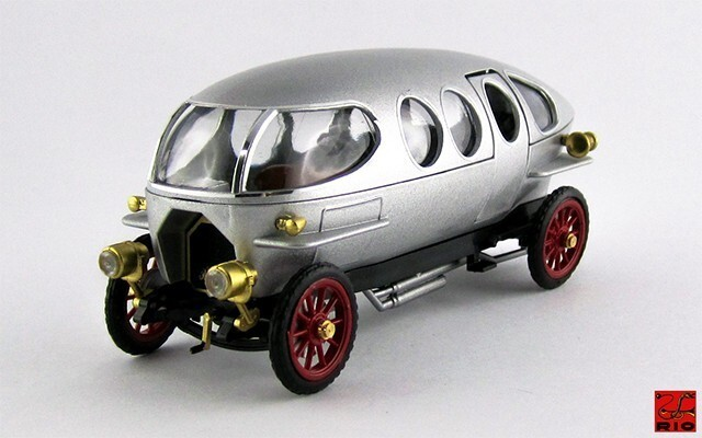 RIO 1/43 アルファロメオ リコッティ 40/60 HP 1914 メタリックグレー
