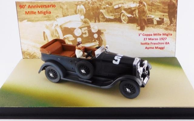 RIO 1/43 イソッタ フラスキーニ 8A トーピードウ ミッレミリア 1927 #5 Aymo Maggi ミッレミリア90周年記念モデル(1927-2017)