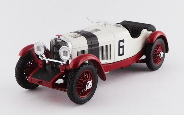 RIO 1/43 メルセデス ベンツ SSKL アイフェル ニュルブルクリンク 1927 #6 Rudolf Caracciola 優勝車