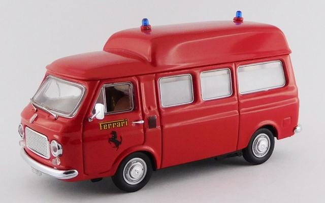 RIO 1/43 フィアット 238 フィオラノサーキット 消防車 1970