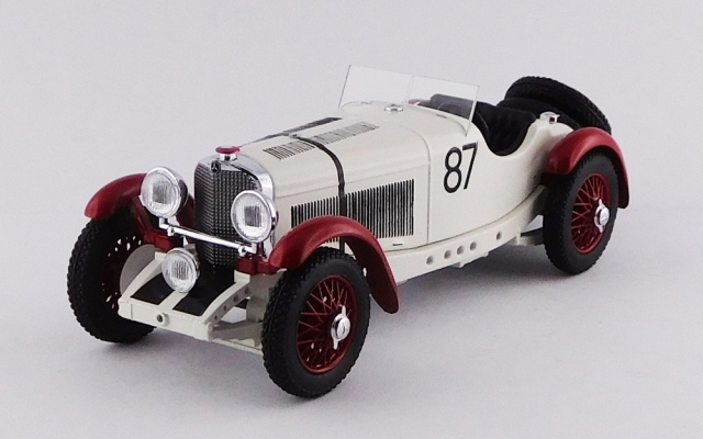 RIO 1/43 メルセデス ベンツ SSKL ミッレミリア 1931 #87 Rudolf Caracciola / Sebastian 優勝車
