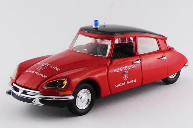 RIO 1/43 シトロエン DS 19 リヨン消防署 1956