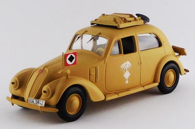 RIO 1/43 フィアット 1500 ドイツ軍 アフリカ仕様 1941