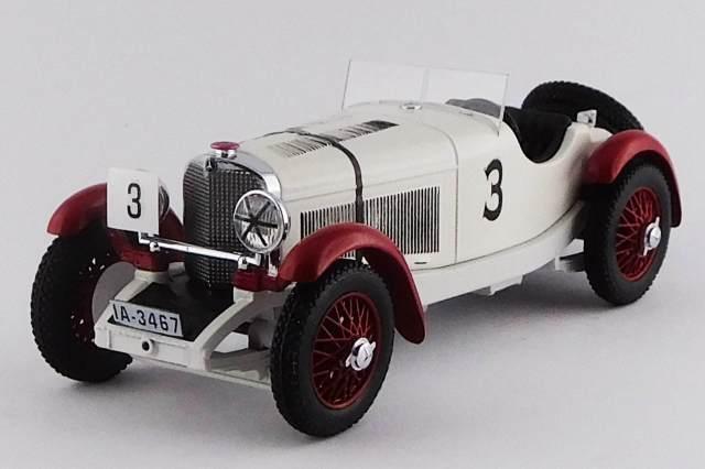 RIO 1/43 メルセデス ベンツ SSK アイリッシュ GP エアランカップ 1930  #3 R.Caracciola 優勝車
