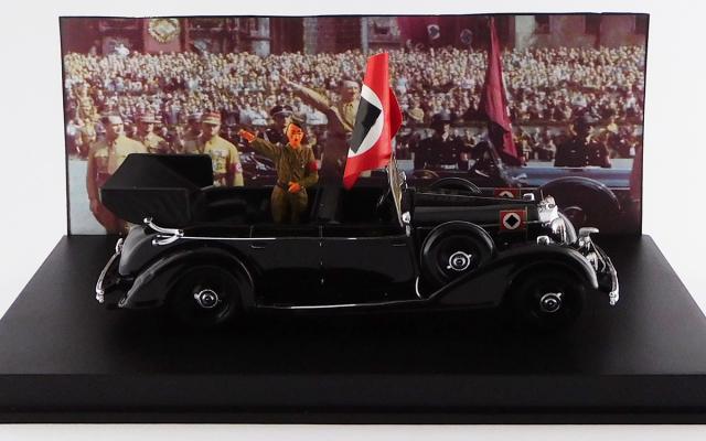 RIO 1/43 メルセデス・ベンツ 770K アドルフ・ヒットラー ニュルンベルク パレード 1938