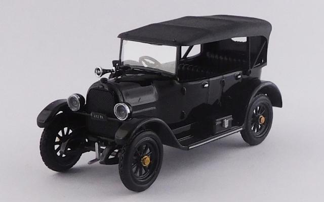 RIO 1/43 フィアット 501 1919 - La Saetta del Re - ブラック