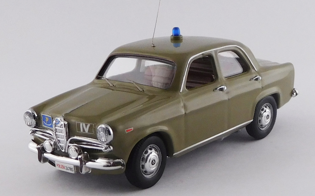 RIO 1/43 アルファロメオ ジュリエッタ 警察車両 1961 ローマ博物館所蔵