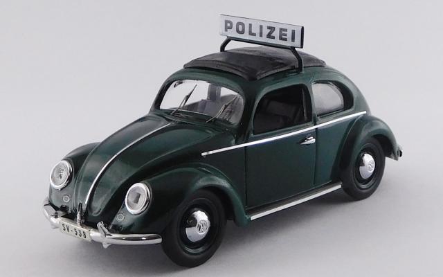 RIO 1/43 フォルクスワーゲン ビートル 警察車両 1953
