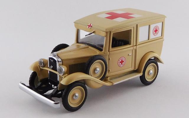 RIO 1/43 フィアット バリラ 救護車両 アフリカ 1935