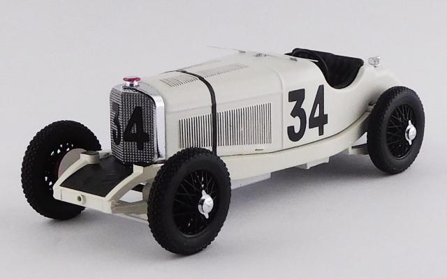 RIO 1/43 メルセデス ベンツ SSK モナコGP 1929年4月14日 #34 R.Caracciola 3位