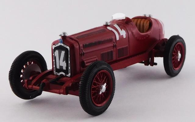 RIO 1/43 アルファロメオ P3 GPイタリア 1932 #14 Giuseppe Campari