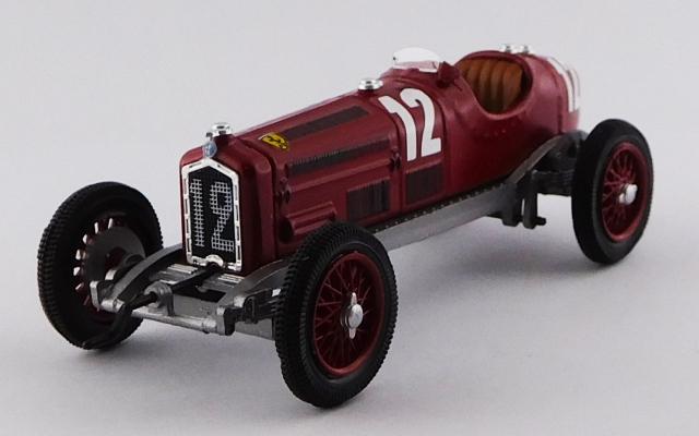 RIO 1/43 アルファロメオ P3 #12 フランスGP 1932 #12 Reims Gueux/Tazio Nuvolari 優勝車