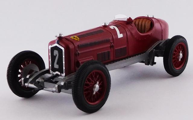 RIO 1/43 アルファロメオ P3 ドイツGP 1932 #2 Rudolf Caracciola 優勝車
