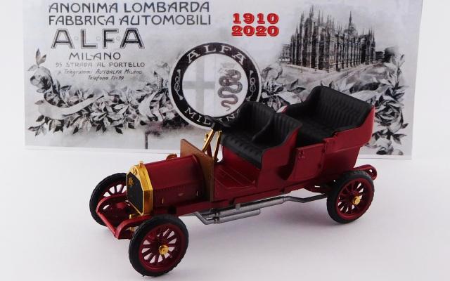 RIO 1/43 アルファロメオ 24 HP トーピードゥ 1910 アルファロメオ 110周年記念モデル(1910-2020) 110個限定