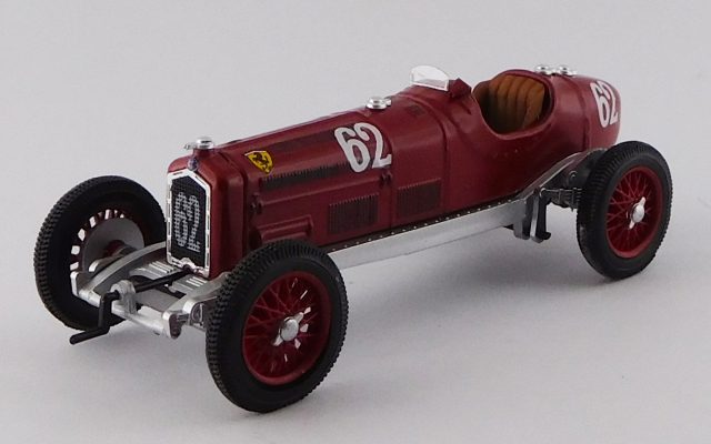 RIO(リオ) 1/43 アルファロメオ P3 TIPO B Coppa Acerbo 1933  #62 Luigi Fagioli 優勝車