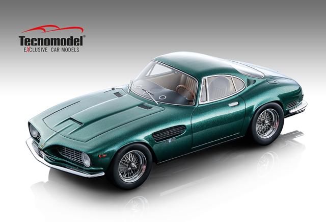 TECNOMODEL 1/18 フェラーリ 250 GT SWB ベルトーネ 1962 メタリックエメラルドグリーン