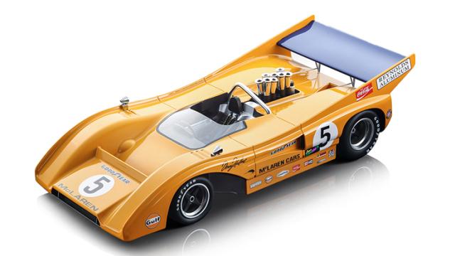 Tecnomodel 1/18 マクラーレン M8F カンナム モスポーツ 1971 #5 優勝車 Denny Hulme