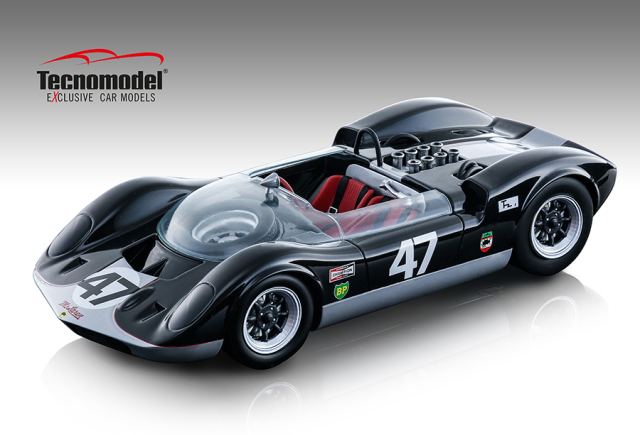 TECNOMODEL 1/18 マクラーレン エルヴァ Mk. I カナダGP #47 Bruce McLaren