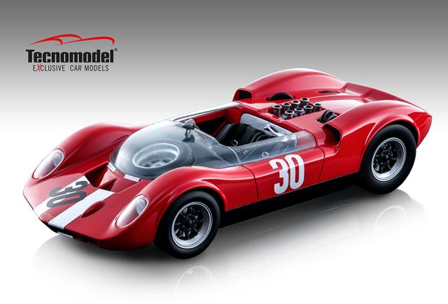 TECNOMODEL 1/18 マクラーレン エルヴァ Mk. I Aspern GP #30 Charles Vogele 優勝車