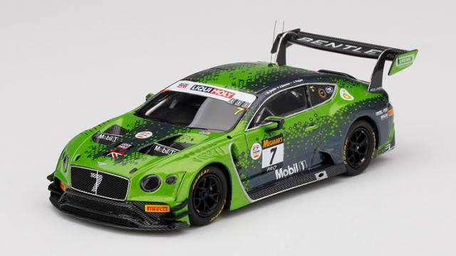 TSM MODEL 1/43 ベントレー コンチネンタル GT3 リッキー-モリーバザースト12時間 2020 優勝車 #7 ベントレーチームMスポーツ