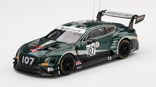 TSM MODEL 1/43 ベントレー コンチネンタル GT3 トータル スパ24時間 2019 #107 ベントレーチーム Mスポーツ