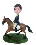 乗馬女子 女性用オリジナルフィギュア 乗馬
