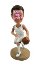 バスケットプレイヤー 女性用オリジナルフィギュア バスケットボール