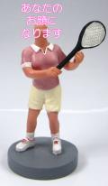 テニスプレーヤー 女性用オリジナルフィギュア テニス