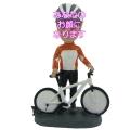 サイクリング 男性用オリジナルフィギュア 自転車