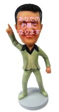 ダンシィングマン 男性用オリジナルフィギュア サタデーナイトフィーバー