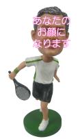 テニスプレイヤー 男性用オリジナルフィギュア テニス