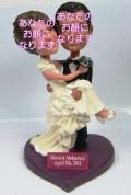 ウエディング(4) 男女セットオリジナル首ふりフィギュア 結婚式