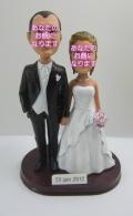 ウエディング(6) 男女セットオリジナル首ふりフィギュア 結婚式