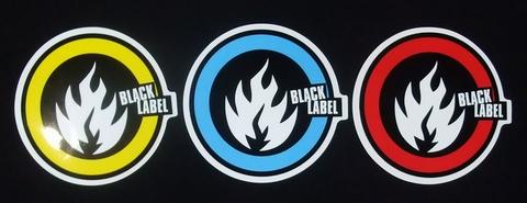 BLACK LABEL(ブラックレーベル) ステッカー 007