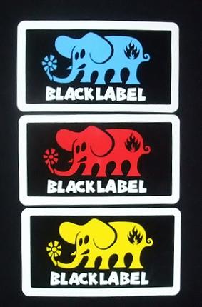 BLACK LABEL(ブラックレーベル) ステッカー 006