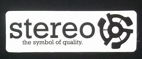STEREO(ステレオ) ステッカー 001