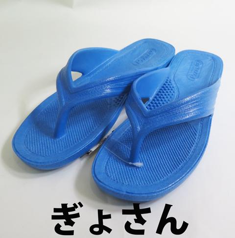 PEARL(パール)/ギョサン 【ぎょさん】 メンズ/ブルー ビーチサンダル