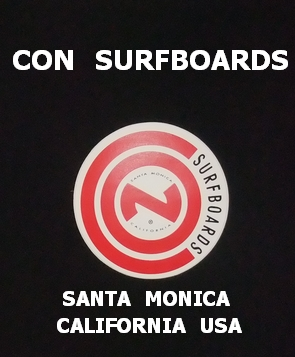 CON SURFBOARDS SANTA MONICA CALIFORNIA USA ステッカー/001