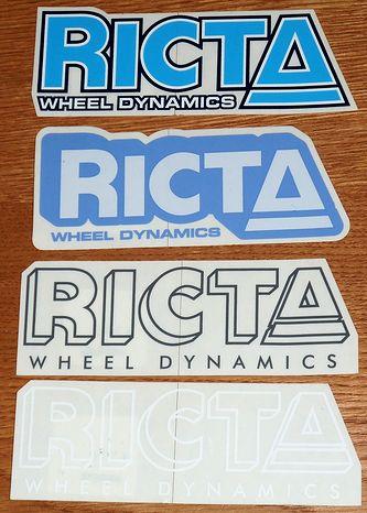 RICTA(リクタ) ステッカー 001