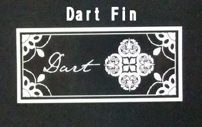 Dart Fin(ダートフィン) ステッカー