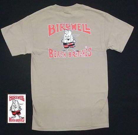 BIRDWELL【バードウェル】 Tシャツ ベージュ/Surfing