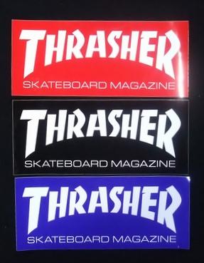 THRASHER(スラッシャー) ステッカー 010 BASIC/Lサイズ