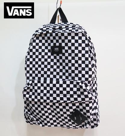 【VANS】 バンズ  バックパック OLDSKOOL2 /CHECKER