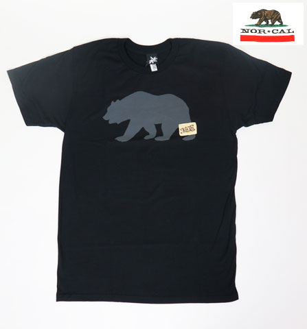 【NOR CAL】 ノ―カル Tシャツ/commander ブラック/Mサイズ