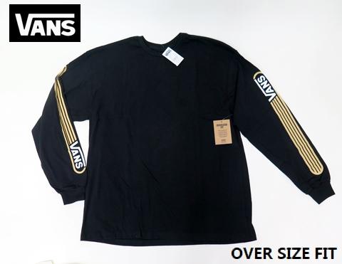 【VANS】 長袖Tシャツ OVER SIZE FIT/Sサイズ BLENDLINE USA企画商品