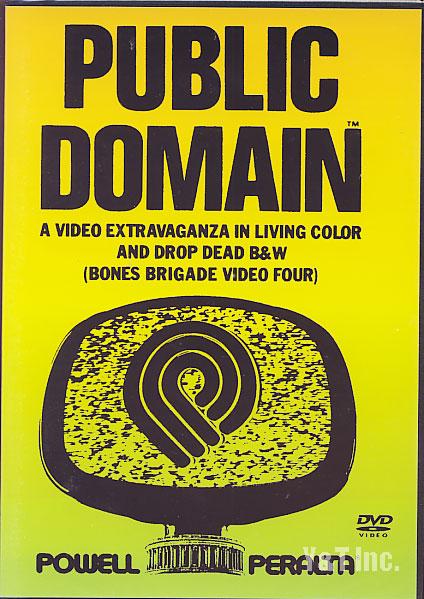 『PUBLIC DOMAIN』 DVD(スケートボード)